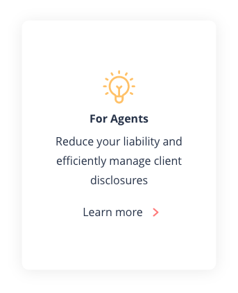 Reduce your liability and efficiently manage client disclosures